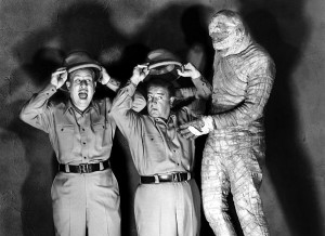Deux nigauds et la momie (Bud Abbott and Lou Costello meet the Mummy, 1955) de Charles Lamont