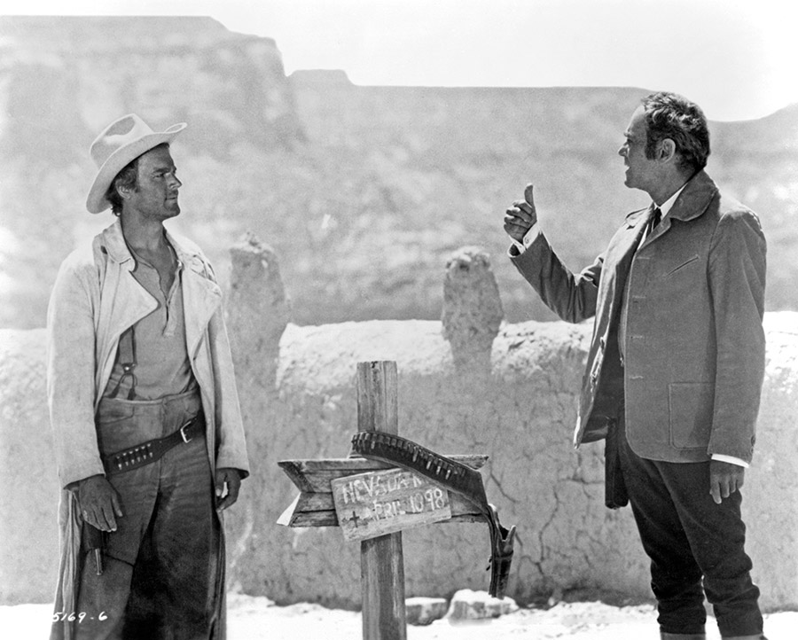 Terence Hill et Henry Fonda dans Mon nom est Personne (Tonino Valerii, 1973) - © Universal Pictures