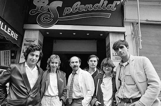 Le Splendid devant le Splendid' en septembre 1981 - © Richard Melloul