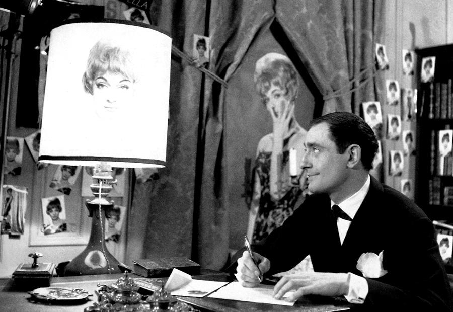 Pierre Étaix dans Le Soupirant (1962)