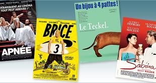 Toutes les sorties Comédie du 19 octobre 2016 : Apnée, Brice 3, Le Teckel, Sabrina (reprise).