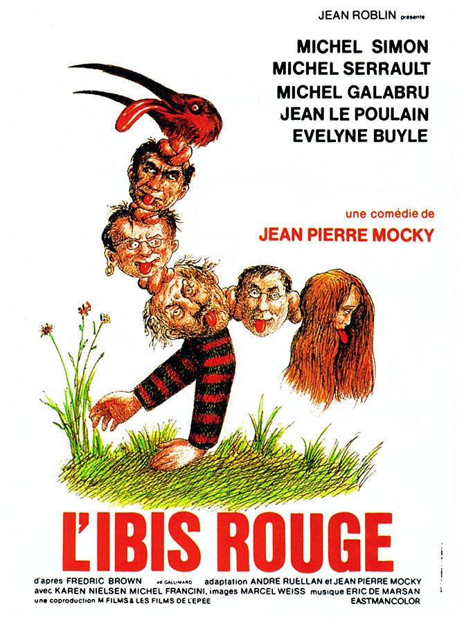 L'Ibis rouge (Jean-Pierre Mocky, 1975)