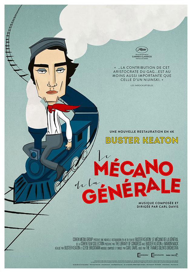 Le Mécano de la General (Buster Keaton et Clyde Bruckman, 1926)