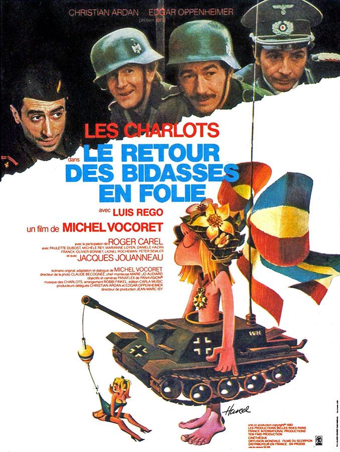 Le Retour des Bidasses en folie (Michel Vocoret, 1983)