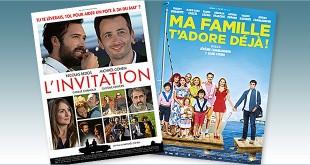 Toutes les sorties Comédie du 9 novembre 2016 : L'Invitation, Ma famille t'adore déjà !