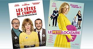 sorties Comédie du 16 novembre 2016 : Le Petit locataire, Les Têtes de l'emploi.