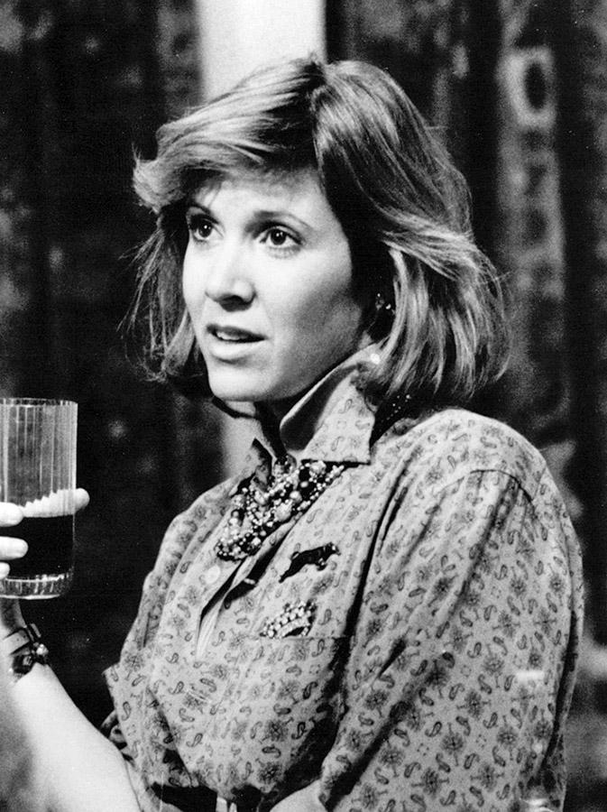 Carrie Fisher dans Hannah et ses sœurs (Woody Allen, 1986)