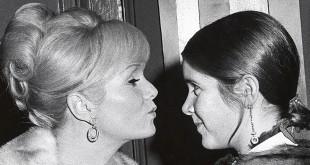 Hommage à Carrie Fisher et Debbie Reynolds