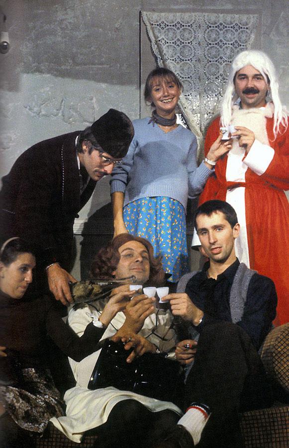 Le Père Noël est une ordure sur scène en 1980 © Enguerand/Bernand