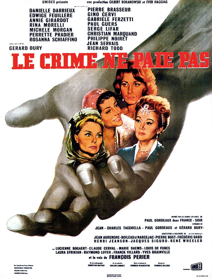Le Crime ne paie pas (Gérard Oury, 1962)