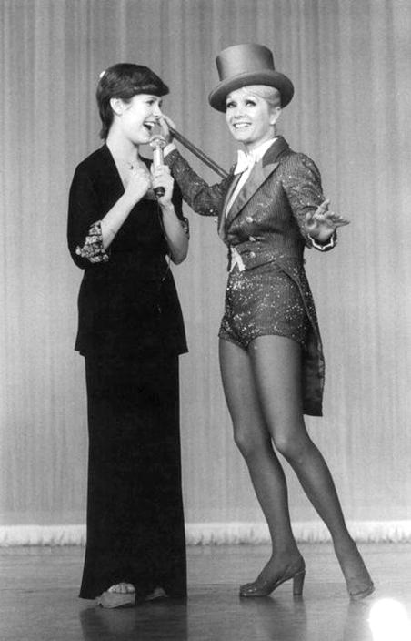 Carrie Fisher et Debbie Reynolds sur scène