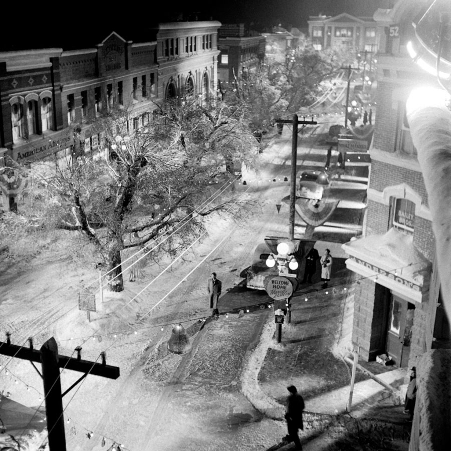 Plateau de La Vie est belle (It's A Wonderful Life) de Frank Capra (1946)