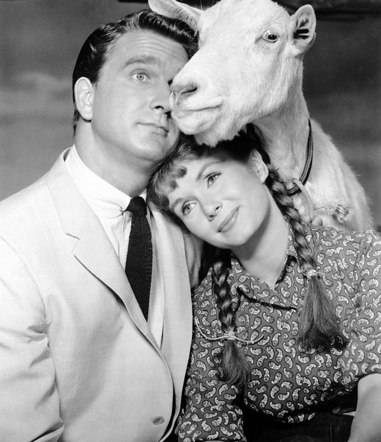 Leslie Nielsen et Debbie Reynolds dans Tammy and the Bachelor (Joseph Pevney, 1957)