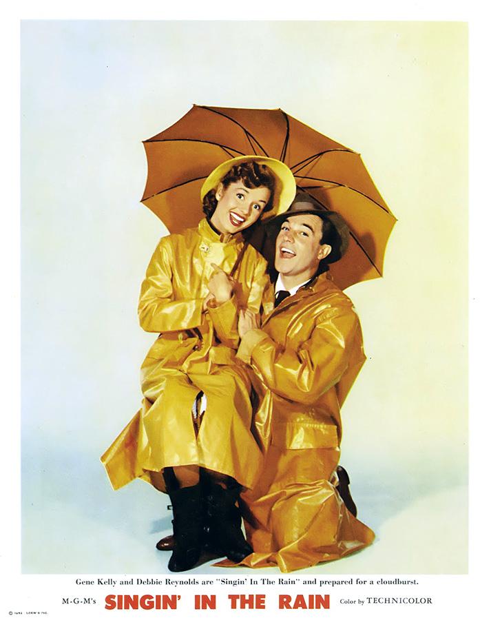 Debbie Reynolds et Gene Kelly dans Chantons sous la pluie (Stanley Donen et Gene Kelly, 1952)