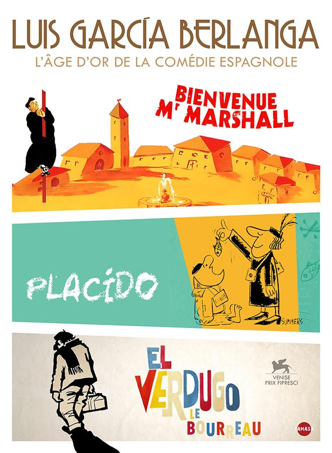 Luis Garcia Berlanga : L'âge d'or de la comédie espagnole - coffret 3 DVD (Tamasa)