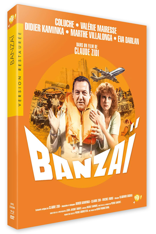 Banzaï (Claude Zidi, 1983) - Blu-ray