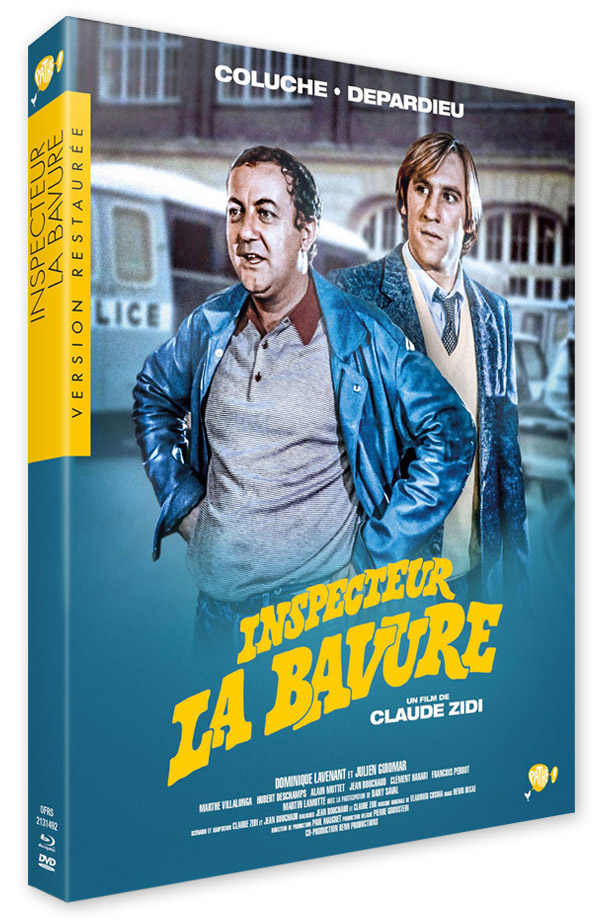 Inspecteur La Bavure (Claude Zidi, 1980) - Blu-ray