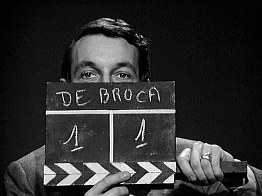 Philippe de Broca et le clap du Roi de cœur (1966)