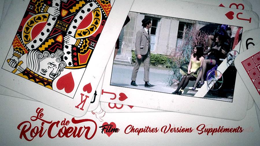 Le Roi de cœur (Philippe de Broca, 1966) - Menus du Blu-ray