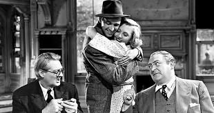 Lionel Barrymore, James Stewart, Jean Arthur et Edward Arnold dans Vous ne l'emporterez pas avec vous (Frank Capra, 1938)