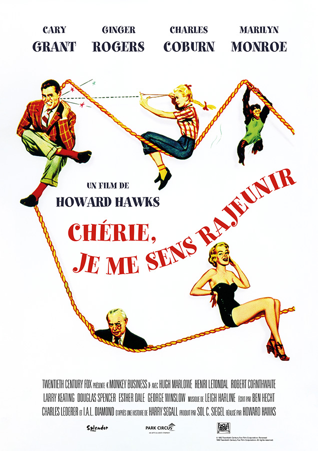 Chérie, je me sens rajeunir (Monkey Business, 1952) de Howard Hawks