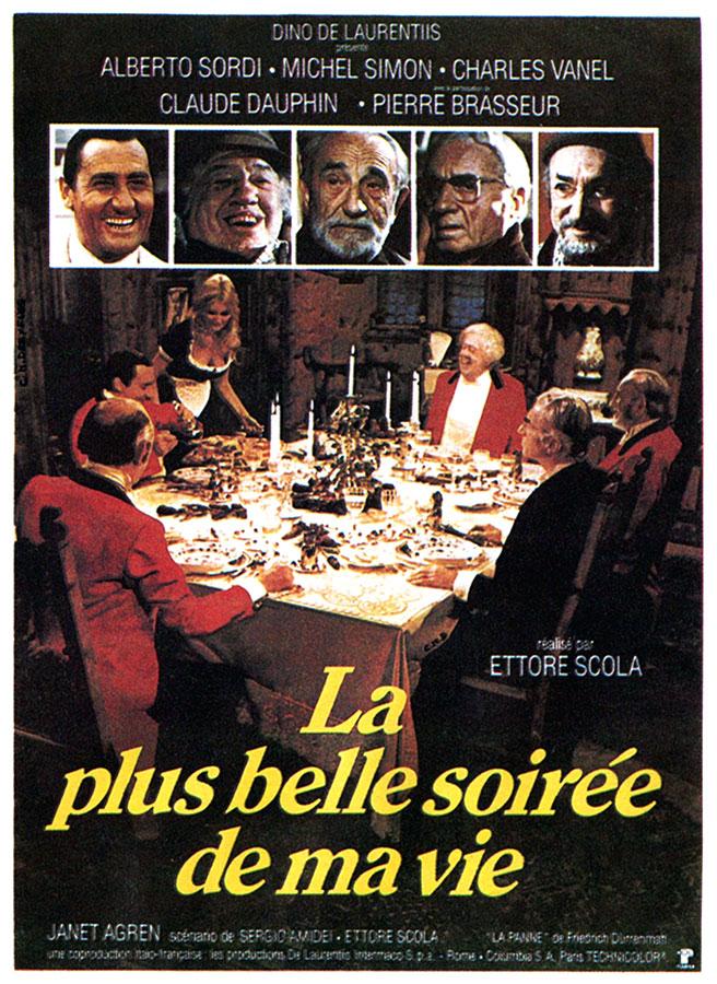 La Plus belle soirée de ma vie (Ettore Scola, 1972)