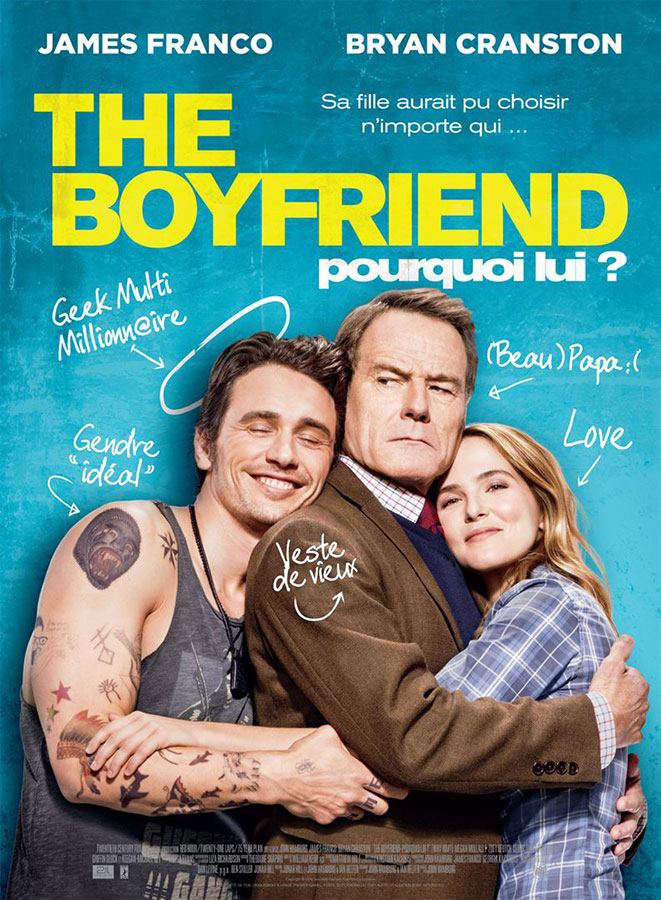 The Boyfriend - Pourquoi lui ? (John Hamburg, 2017)