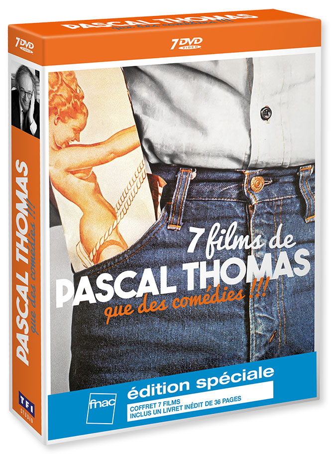 Coffret DVD - 7 films de Pascal Thomas, que des comédies !!! (TF1 Studio)