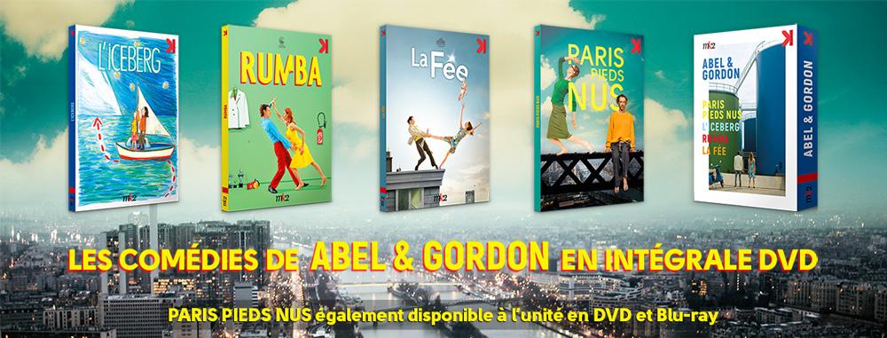 Coffret Abel & Gordon : L'Iceberg/Rumba/La Fée/Paris pieds nus (Potemkine)