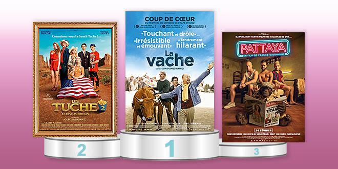 Rentabilité des films français en salle en 2016
