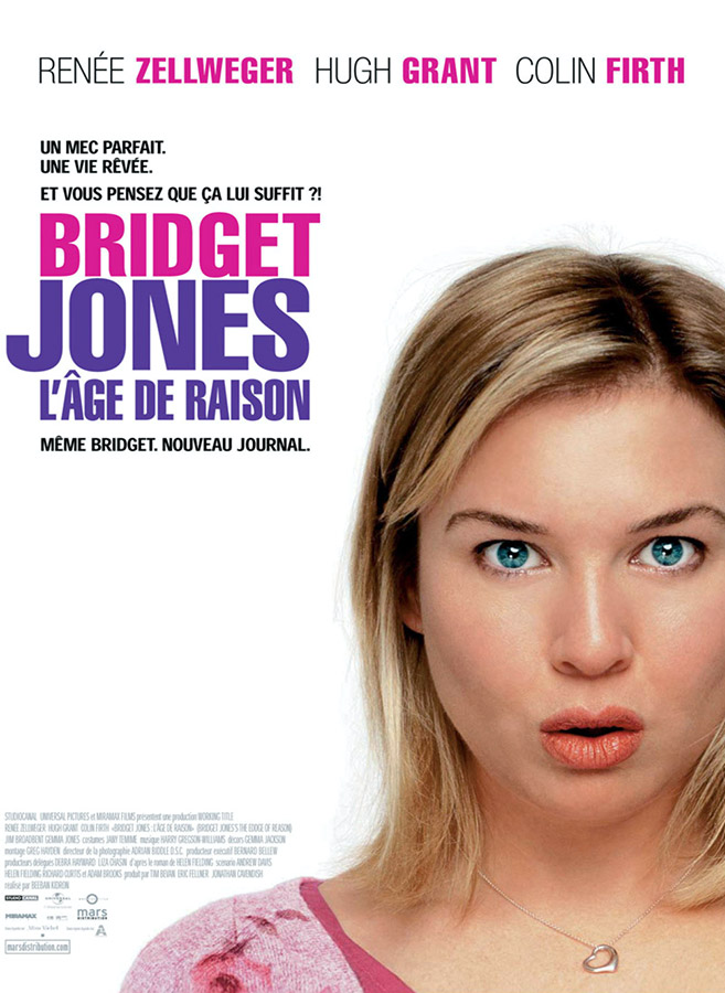 Bridget Jones : l'âge de raison (Beeban Kidron, 2004)