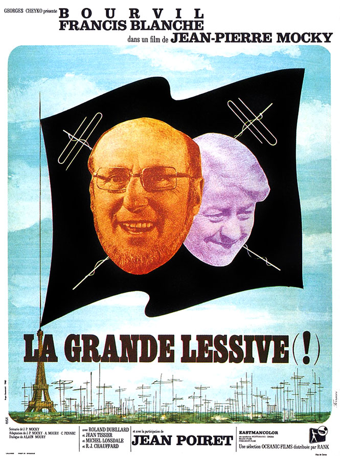 La Grande lessive (Jean-Pierre Mocky, 1968)