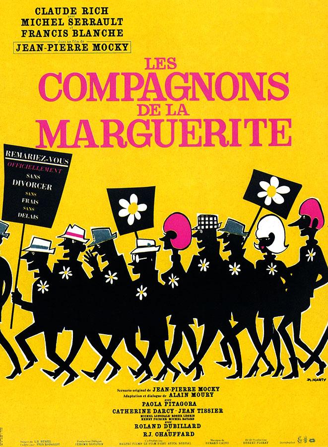 Les Compagnons de la marguerite (Jean-Pierre Mocky, 1967)