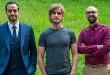 Tarek Boudali, Philippe Lacheau et Julien Arruti dans Alibi.com (Philippe Lacheau, 2017)