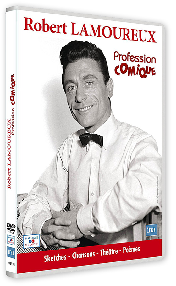 Robert Lamoureux, profession comique - DVD (éditions Marianne Mélodie)