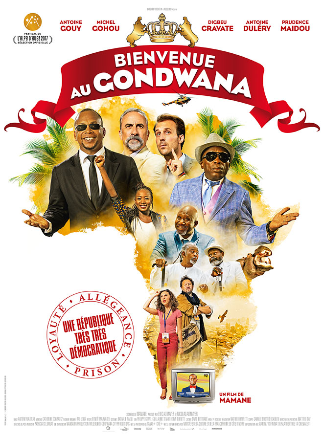 Bienvenue au Gondwana (Mamane, 2017)