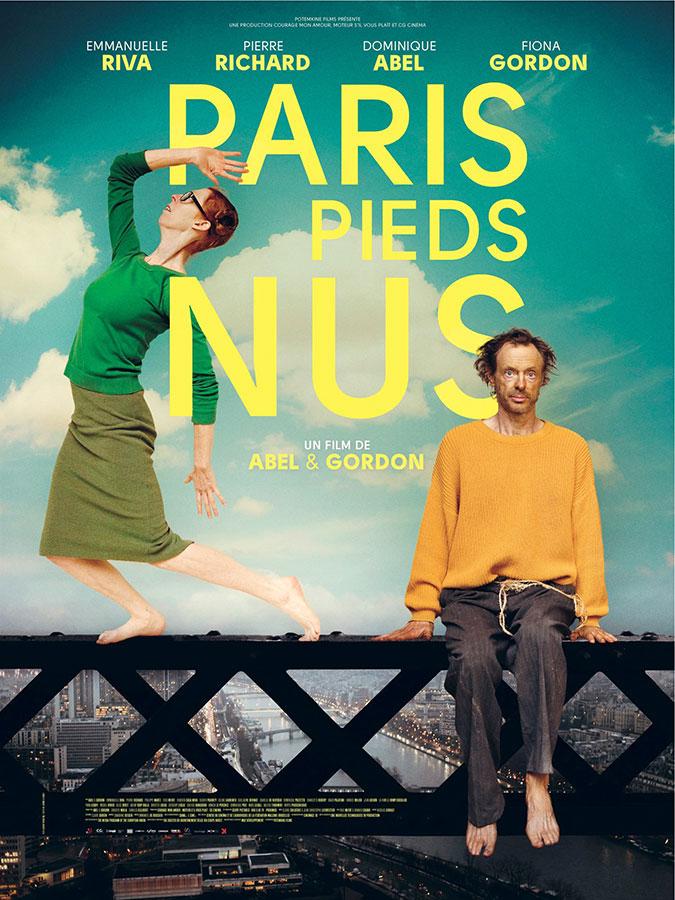 Paris pieds nus (Abel et Gordon, 2016)