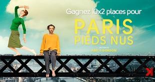 Gagnez des places pour Paris pieds nus