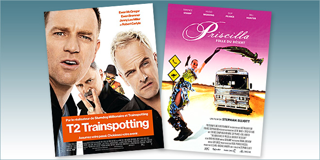 sorties Comédie du 1 mars 2017 : T2 Trainspotting, Priscilla folle du désert (reprise)