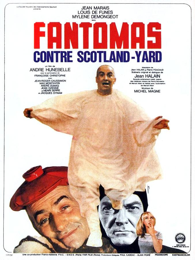Fantômas contre Scotland Yard (André Hunebelle, 1966)