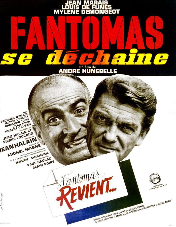 Fantômas se déchaîne (André Hunebelle, 1965)