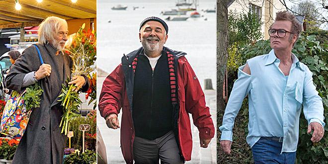 Pierre Richard (Un profil pour deux) / Gérard Jugnot (C'est beau la vie) / Franck Dubosc (Boule & Bill 2)