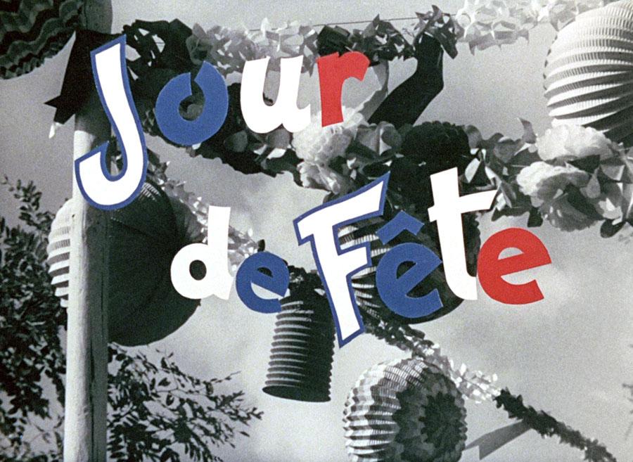 Jour de fête de Jacques Tati en couleur - © Specta Films C.E.P.E.C.