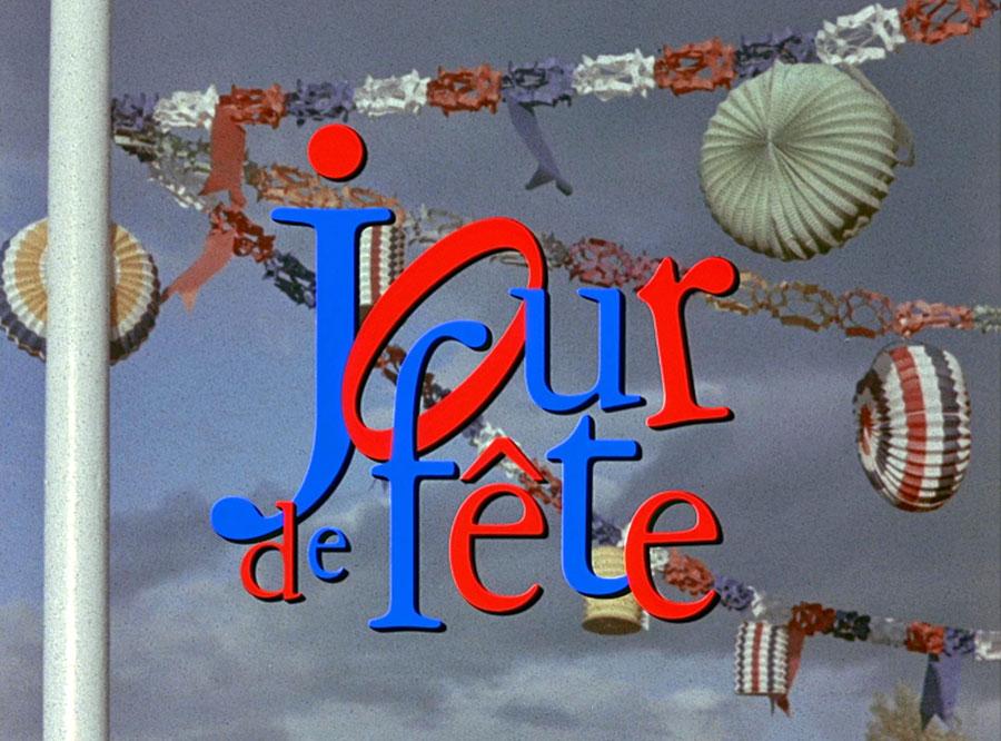 Jour de fête de Jacques Tati en couleur