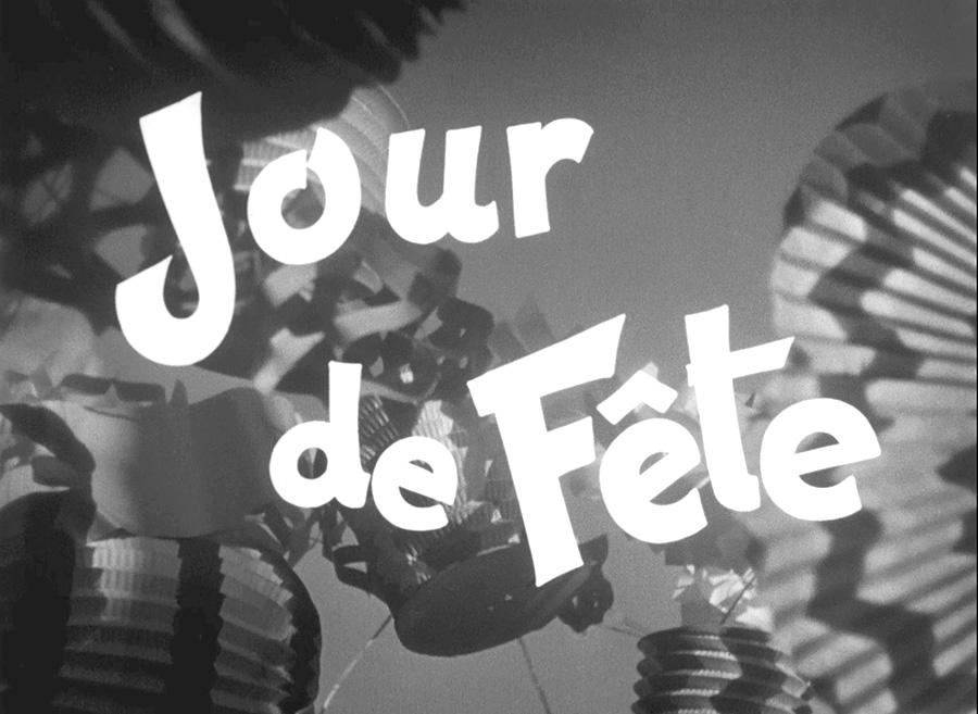 Jour de fête de Jacques Tati en noir et blanc - © Specta Films C.E.P.E.C.