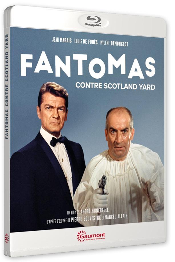 Fantômas contre Scotland Yard (André Hunebelle, 1967) - Blu-ray