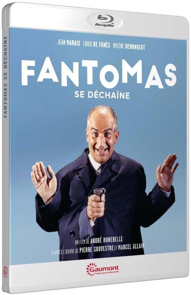 Fantômas se déchaîne (André Hunebelle, 1965) - Blu-ray