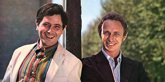 Victor Lanoux et Pierre Richard dans les années 1960