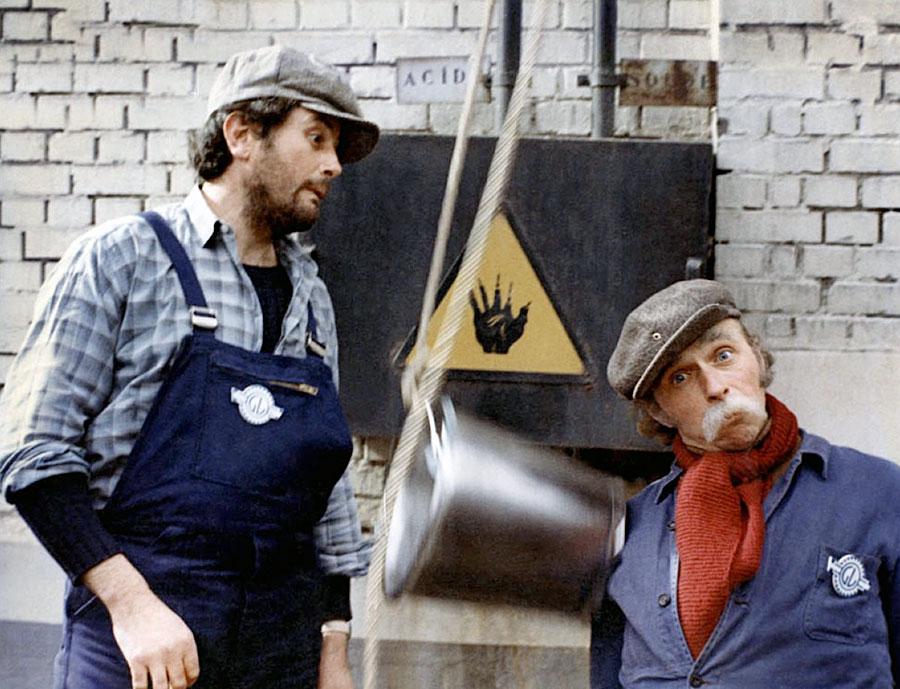 Victor Lanoux et Pierre Richard dans Je sais rien mais je dirai tout (Pierre Richard, 1973)