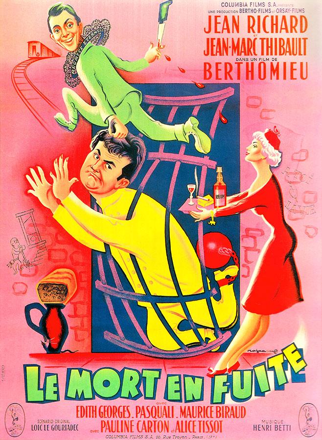 Les Deux font la paire / Le Mort en fuite (André Berthomieu, 1954)